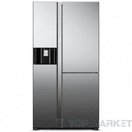 Двукрилен хладилник с фризер HITACHI R-M700AGPRU4X MIR