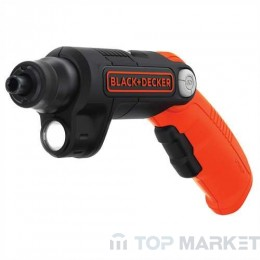 Акумулаторна отвертка с лампа BLACK&DECKER BDCSFL20C