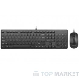 Клавиатура DELUX KA150U + M136BU