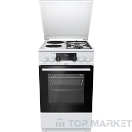 Комбинирана готварска печка Gorenje K5351WF