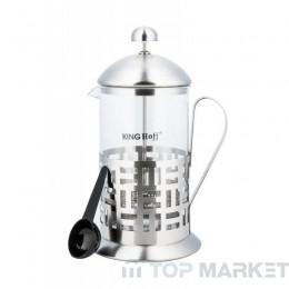 Френска преса за чай и кафе Kinghoff K KH 4829