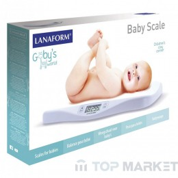 Кантарче за бебе LANAFORM BABY SCALE new model LA090325