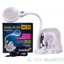 Лупа LEVENHUK Zeno Multi ML15 White