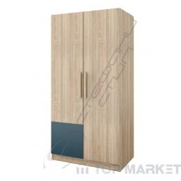 Двукрилен гардероб Дубай - модул 1