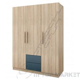 Трикрилен гардероб Дубай - модул 3