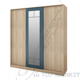 Трикрилен гардероб Дубай - модул 7