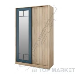 Двукрилен гардероб Дубай - модул 8