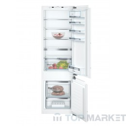 Хладилник-фризер BOSCH KIS87AFE0 за вграждане