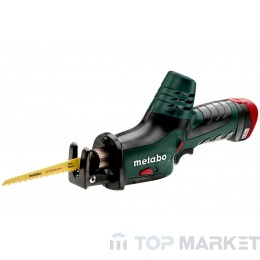 Саблен трион акумулаторен 10.8V METABO PowerMaxx ASE 2x2Ah