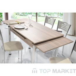 Трапезен комплект, Разтегателна маса + 4 стола Mizia I