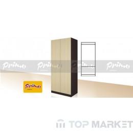 Двукрилен гардероб Primo 7