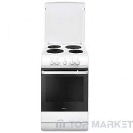 Готварска печка HANSA FCEW5300090  с електрически плот