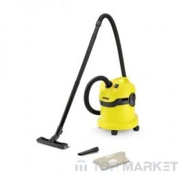 Прахосмукачка KARCHER WD 2  за сухо и мокро почистване