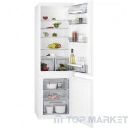 Хладилник с фризер AEG SCB51811LS за вграждане