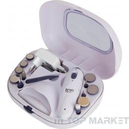 Комплект за маникюр и педикюр JATA SM110B