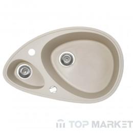 Кухненска гранитна мивка XElipse шампанско