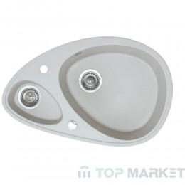 Кухненска гранитна мивка XElipse сива