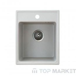 Кухненска гранитна мивка XQuadro 40 - сива