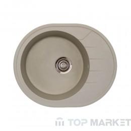 Кухненска гранитна мивка XVenera M шампанско