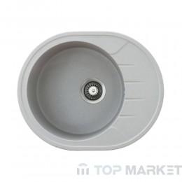 Кухненска гранитна мивка XVenera M сива