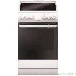 Готварска печка Hansa FCCW580009 със стъклокерамичен плот