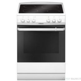 Готварска печка HANSA FCCW680009 със стъклокерамичен плот