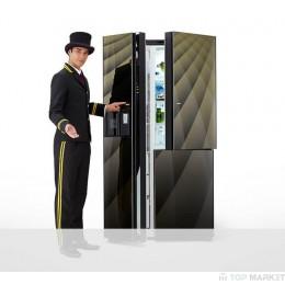 Двукрилен хладилник с фризер HITACHI R-M700AGPRU4X